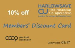 Discount Card (front)